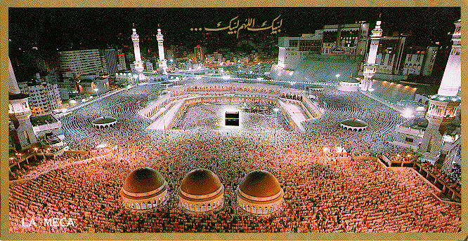 Why do muslims pilgrimage to Mecca